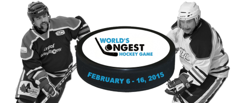 We are a proud sponsor of the World's Longest Hockey Game