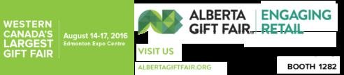 Alberta Gift Fair August 14-17, 2016